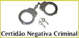 certidao negativa criminal Certidão Negativa Criminal